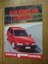 "ALFA ROMEO 33 UPDATE ""TEST"" BROCHURE"
