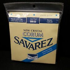 1 Set Savarez New Cristal Corum High Tension Classical Guitar Strings 500CJ