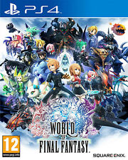 World Of Final Fantasy PS4 Playstation 4 IT IMPORT SQUARE ENIX