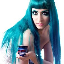 "NEW MANIC PANIC ""VOODOO BLUE"" CLASSIC SEMI-PERMANENT VEGAN HAIR DYE COLOR 4 OZ"