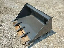 New Listingnew Cid 44 Low Pro Tooth Bucket Mini Skid Steer Loader Attachment Dingo Style