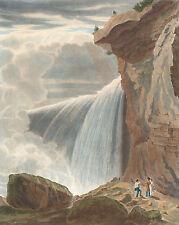 American Art Reproduction: Niagra Falls - Under the Table Rock - Fine Art Print