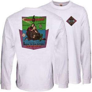 VISION STREET WEAR '80s Skateboard Long Sleeve Tee Shirt - Dress For - L / FAULT