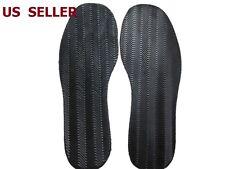 US SHIP 1 Pair Anti Slip Rubber Glue on Full Soles DIY Shoes Repair Supplies