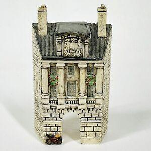 J Carlton Dominique Gault Miniature Village Building House Arched Porche 218190