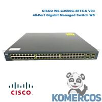 CISCO WS-C3560G-48TS-S V03,  48-Port Gigabit Managed Switch WS