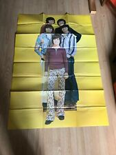 Vintage Giant 1971 Mgm Record Osmond Brothers Poster Donny Osmond
