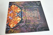 MAN WITH NO NAME - EARTH MOVING THE SUN DJ FRIENDLY 1998 UK-LP/Vinyl/Record