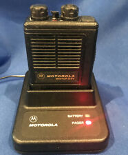 Motorola Minitor Ii Vhf Sv Pager 1 Frequency 155.355 with Battery & Charger