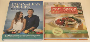 Clean and Lean for Life The Cookbook by James Duigan & Anti Ageing Diet Cookbook
