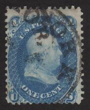 1861, Us 1c, Used, Benjamin Franklin, Sc 63a