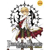 Pandora Hearts Vol.1-25 End Anime DVD