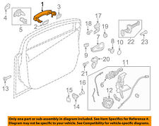 FORD OEM 12-18 Focus-Outside Exterior Door Handle AM5Z1722404JCPTM