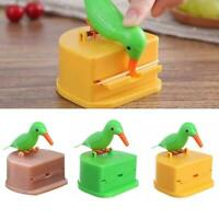 Fully Automatic Cute Hummingbird Toothpick Dispenser Gift Teeth Cleaning W4B1