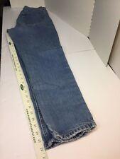 Womens medium Wash Lands End Straight jeans SIZE 10 Regular (B107)