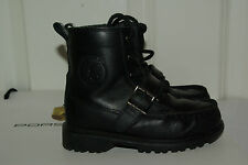 Very Rare!Used once Authentic Ralph Lauren Polo boys boots shoes UK 8 25 EU