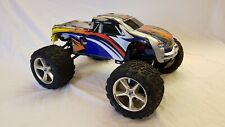 Traxxas Revo 1:10 Monster Truck 4WD Off Road Nitro Glow scoppio RC