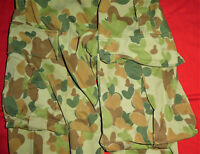 ORIGINAL AUSTRALIAN ARMY TRIAL PATTERN DPCU UNIFORM PANTS 1982 DATED