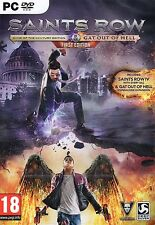 Saints Row Edición Juego del Siglo & Gat fuera del Infierno (Pc DVD)