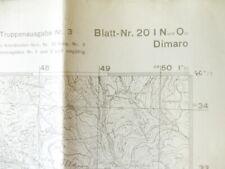 Deutsche Heereskarte Dimaro - Italien, Maße 45 x 50 cm