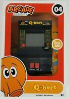 Q*bert Mini Arcade Classics Game #4 Collectible Gameplay Brand New