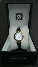 Anne klein ladies Analog stainless steel crossover bangle watch