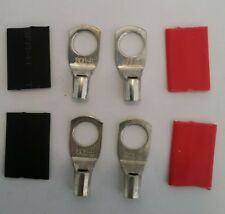 4 x CABLE LUG COPPER SC6-8 to suit 6mm2 CABLE 10 B&S (8mm hole)