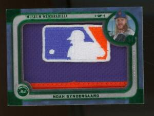2019 Topps Museum Collection Noah Syndergaard 1/1 MLB Logo Patch