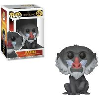 Funko Pop Lion King Rafiki 551 New