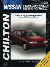 Nissan Sentra, Pulsar, and NX, 1982-96 (Chilton Total Car Care Series Manuals)