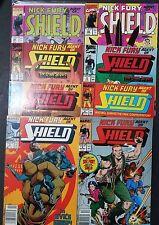 Nick Fury Agent of Shield (Lot of 8 Comics)
