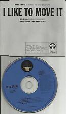 REEL 2 REAL I like to move it w/ REMIXES & EDIT & DUB CD single USA seller