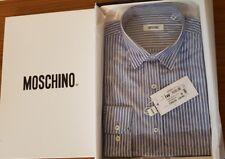 Moschino Genuine Men Shirt Long Sleeve UK SIZE 15.5 ( EU SIZE M), RRP £209.99