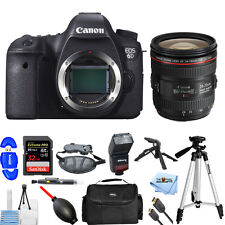 Canon EOS 6D with EF 24-70mm F4L IS USM Lens!! PRO BUNDLE BRAND NEW!!