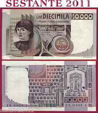 ITALIA ITALY 10.000 10000 LIRE BUSTO D'UOMO CASTAGNO 1980 P 106b  SPL++ / XF++