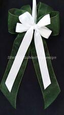 10 Antennenschleifen Autoschleifen Antennenschleife Schleifen grün weiß