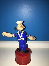 Vtg Popeye The Sailor Push Button Puppet-King Features Syndicate-Kohner Bros.-Nr