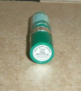 1 vintage tube REVLON MOON DROPS LIPSTICK ROSE AMETHYST 50 FROST unsealed flaw