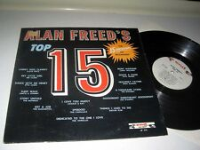 VARIOUS ARTISTS Santo & Johnny, The Nutmegs, Shirelles ALLAN FREED'S TOP 15 End