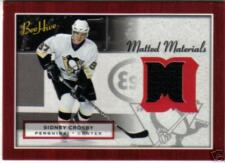 2005 05-06 UD BEEHIVE SIDNEY CROSBY RC JERSEY BEE HIVE