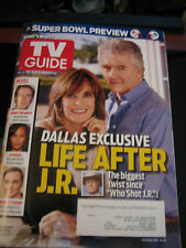 TV Guide Magazine - Dallas Covers - Double Issue -January 28 - February 10, 2013