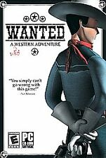 WANTED A Wild Western Adventure Cowboy PC Game NEW BOX!