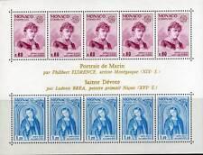 MONACO BLOC TIMBRES EUROPA 1975 NEUFS XX - BLOC N° 10
