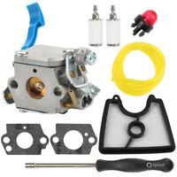 Carburetor Air filter for Husqvarna 125BVX 125BX 125B blower Zama C1Q-W37 Carb