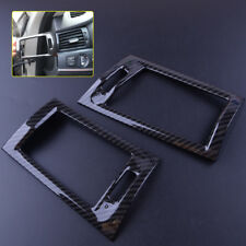 2x Carbon Fiber Interior Air Vent Outlet Cover Trim for BMW X3 F25 X4 F26 2017