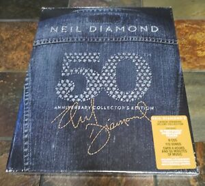 NEIL DIAMOND - 50th Anniversary Collector's Edition - 6 CDs and 92 Page Book Set