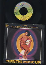The Players Association - Turn the Music Up! - Goin' To the Disco -  UK