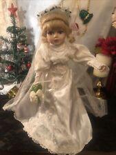 Beautiful Porcelain Doll: Bride
