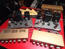 Heathkit W4-AM Amplifier + WA-P2 Pre-Amplifier + AM. FM Tuner Set