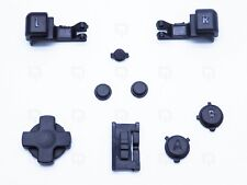 Replacement L&R Trigger Shoulder Buttons Switches Game Boy Advance SP GBA BLACK